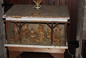 Lovely old Nativity setting