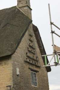 Note the inset dovecote