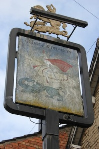 The George & Dragon's seen better days...