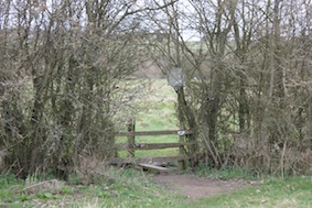 Over this stile...