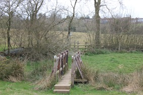 …& another bridge & stile - told you this walk would get you fit!!