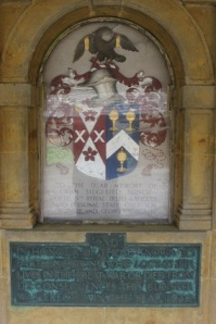 The cloisters were erected as a war memorial