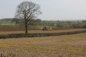 Spring farming is well underway