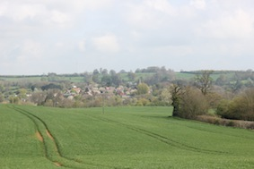 The view back across to Newnham