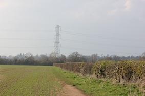 Head towards that pylon