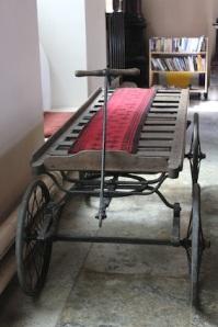 An old coffin cart