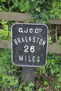 We did one of our earliest walks around Braunston