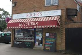 "The long running joke is ""I'm just off to Roger the Butcher!!"""