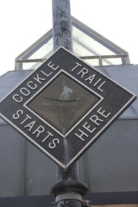 The trail's very well marked