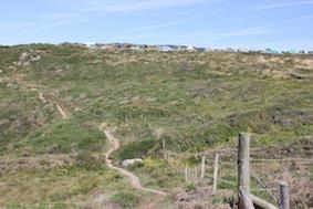 Uphill now...
