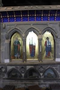 The shrine of St David