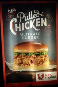 "What's this fad with ""pulled"" everything? It's not good & also annoys the chicken!!"