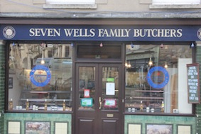 Another good local butchers which was advertising game