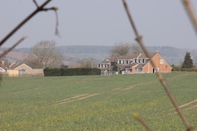 The village's coming into view