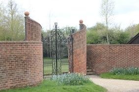 Impressive gate!