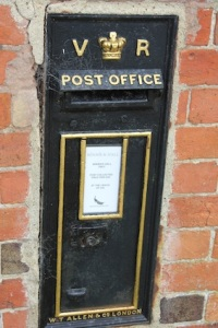 Classy post box