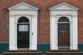 Fine doorways along here
