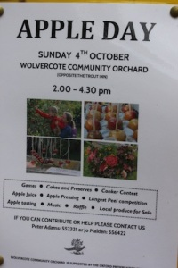 That sounds fun & we've just seen the community orchard