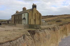 The remaining coastguard cottages, but for how much longer?